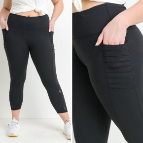 Charli High-waist Ribbed Leggings