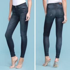 Judy Blue Mid Rise Non Distressed Denim