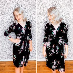 Margot Floral Midi Dress