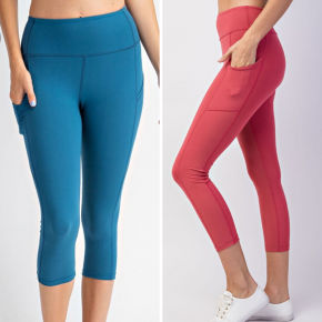 Pearl Capri Yoga Pants