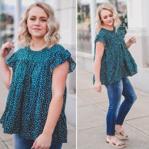 Wren Dotted Blouse