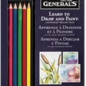 General's Pencil Learn Watercolor Pencil Set