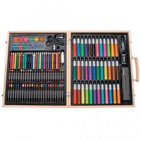 Premium Art Set in Wooden Case - 131 pieces