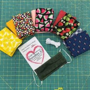 Fruity Grouping Cotton Mask Kit - Makes 12 Masks
