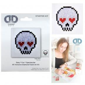 Diamond Dotz Facet Art Kit Starter Sugar Skull