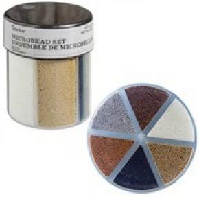 Darice® 6-Color Microbeads Caddy: Metallics