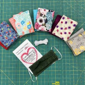 Floral Grouping Cotton Mask Kit - Makes 12 Masks