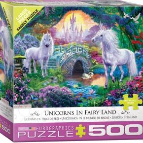 Unicorns in Fairy Land by Jan Patrik 500-Piece Puzzle