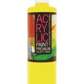 Student Acrylic Paint 16oz, Lemon Yellow