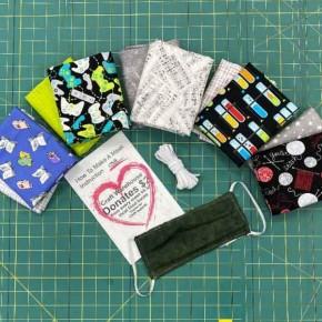Hobby Grouping Cotton Mask Kit - Makes 12 Masks