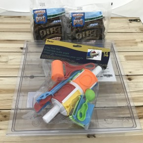 Play Dirt 2 Bag / Storage Container / 14 Piece Tool Set Bundle