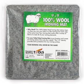 9 x 9 Wool Ironing Mat - 100% New Zealand Wool Pressing Pad