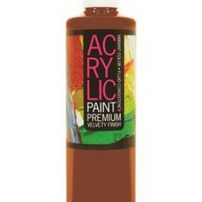 Student Acrylic Paint 16oz, Burnt Umber