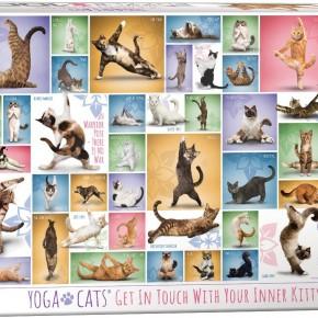 Yoga Cats 1000-Piece Puzzle