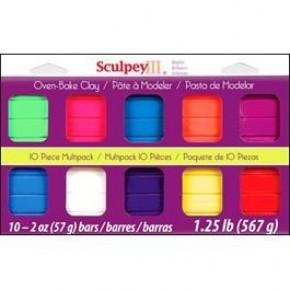 Sculpey III Brights Clay 10 Piece Set