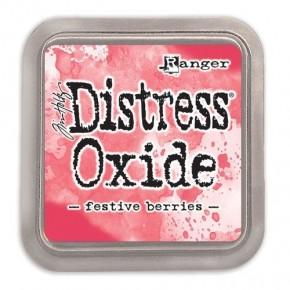 Tim Holtz Distress Oxide Ink Pad, Festive Berries