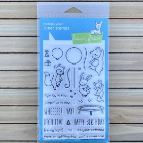 Really High Five Stamp Set, Lawn Fawn