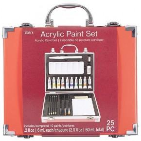 Studio 71 Acrylic Paint Art Set, 25 pieces
