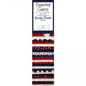 Quilting Strip Packs- Essential Gems, Yankee Doodle