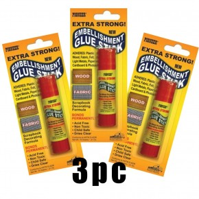Pioneer Albums Embellishment Glue Stick .31 Ounce EGS (3-Pack)