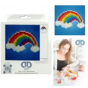 Diamond Dotz Facet Art Kit Beginner Ever Living Rainbow