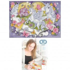 Diamond Dotz Facet Art Kit Advanced Princess Magic