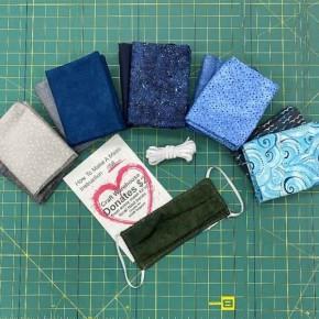 Basic Grouping Cotton Mask Kit - Makes 12 Masks