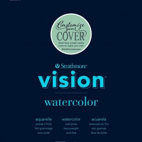 "Strathmore Vision Watercolor Pad, 9"" x 12"""