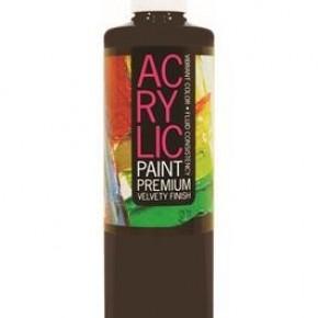 Student Acrylic Paint 16oz, Lamp Black