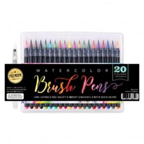 Watecoloro Brush Pen Set, 21 Pieces