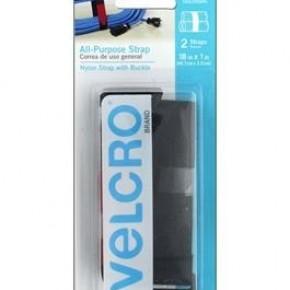 """All Purpose Velcro Strap, 2/Sheets, 18"""" x 1"""""""