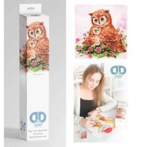 Diamond Dotz Facet Art Kit Intermediate Mother & Baby Owl