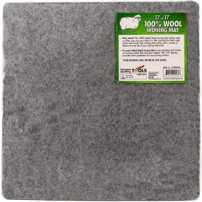 17 x 17  Wool Ironing Mat - 100% New Zealand Wool Pressing Pad