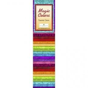 Quilting Strip Packs- Essential Gems, Magic Colors