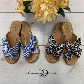 Bow Band Sandal *Final Sale*