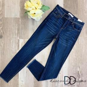 Mid Rise Crop Skinny Jean
