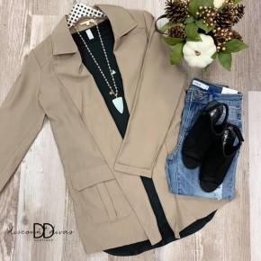 Trench Jacket *Final Sale*
