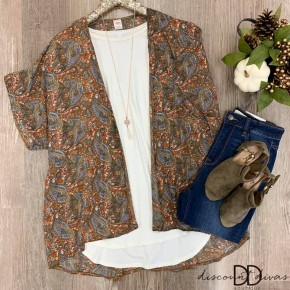 Paisley Kimono *Final Sale*
