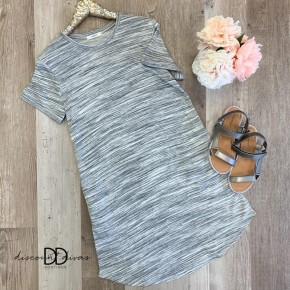 Short Sleeve Dress With Pockets