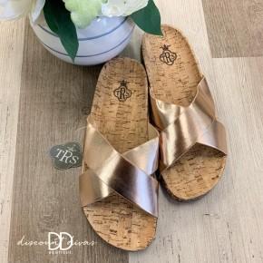 Cork Slide Sandal