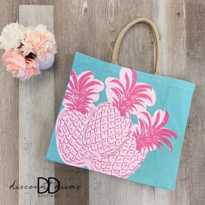 Pineapple Carryall Tote