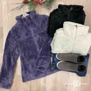 Zip Up Fleece Jacket *Final Sale*