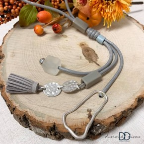 Geometric Tassel Necklace