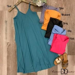 V-Neck Cami Dress *Final Sale*