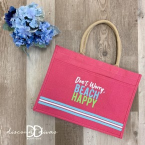 Don't Worry Beach Happy Tote