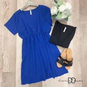 Dolman Sleeve Babydoll Mini Dress