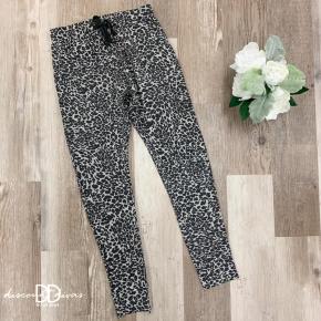 Cheetah Print Sweatpants