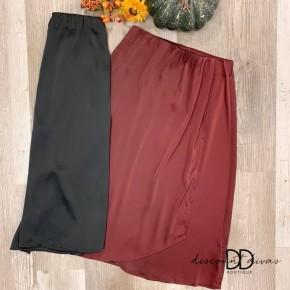 Overlap Midi Skirt *Final Sale*