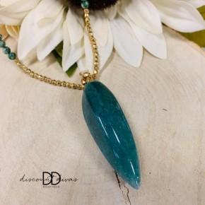 Beaded Stone Necklace