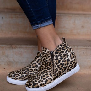 Hightop Ankle Bootie With Zipper Detail *Final Sale*